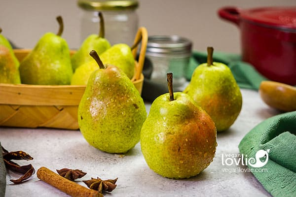 California Bartlett pears