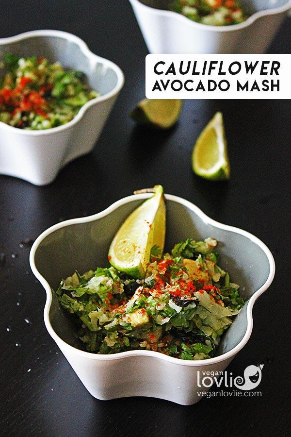 mashed cauliflower recipe with avocado, cauliflower mashed potatoes