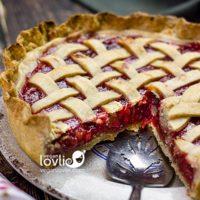 Cherry Rhubarb Pie & How to Avoid Soggy Pie Crust