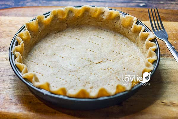 oil-based vegan pie crust