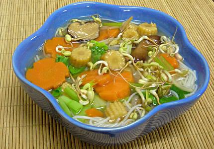 Vegan Chinese Soup