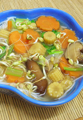 Vegan Chinese Soup