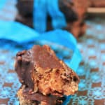 Chocolate vegan protein bar