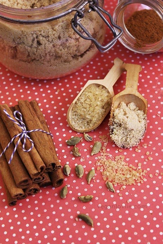 Vegan Christmas Holiday Sweet Fruit Crown Bread