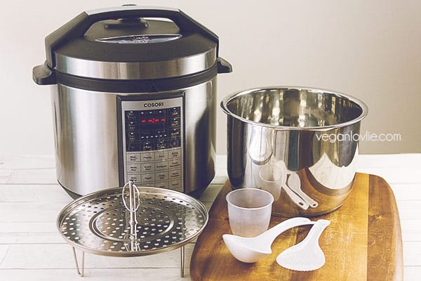 COSORI pressure cooker review giveaway