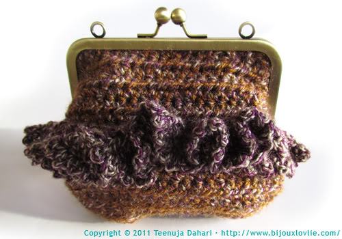 Crochet bag/purse/clutch