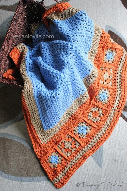 Throw in some Crochet for Sheer Joy
