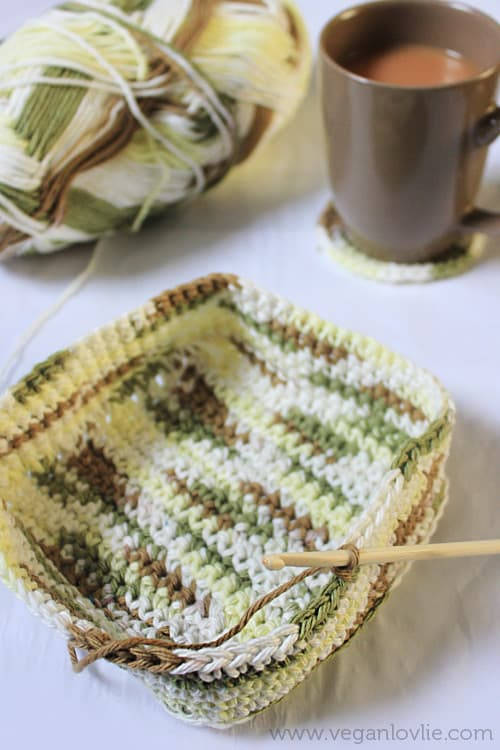 Crochet Baskets Project