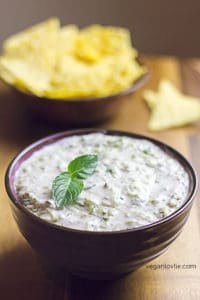 cucumber raita with mint, refreshing cucumber dip