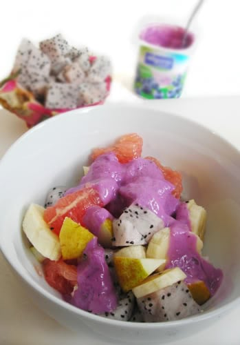 dragon fruit,fruit salad