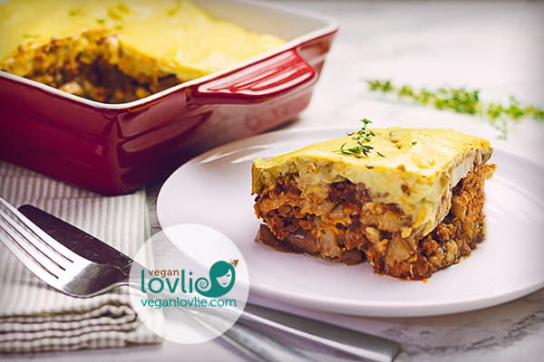 Vegetable Moussaka Easy Scrumptious Vegan Vegetarian Recipe