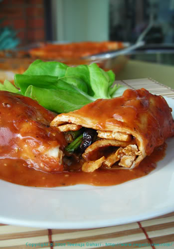 vegetarian vegan enchiladas