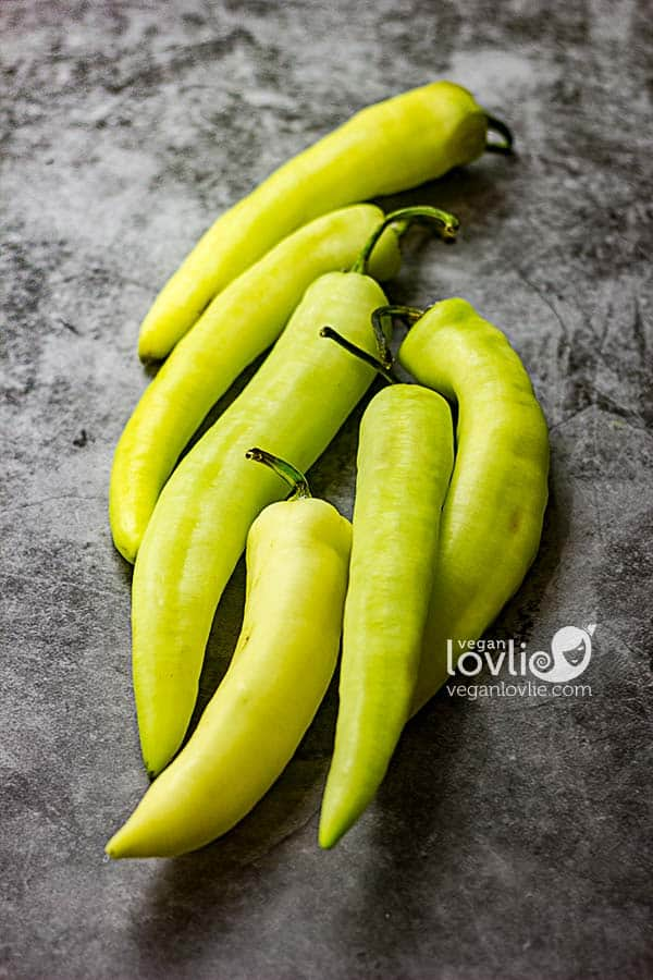 banana peppers or chillis
