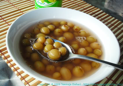 Canned Gooseberries