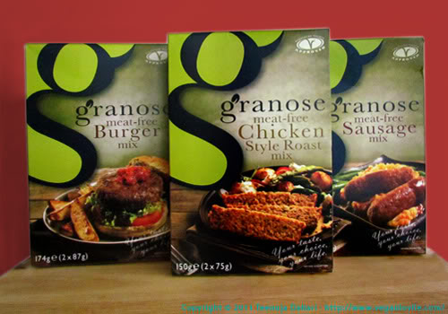 granose meat-free products