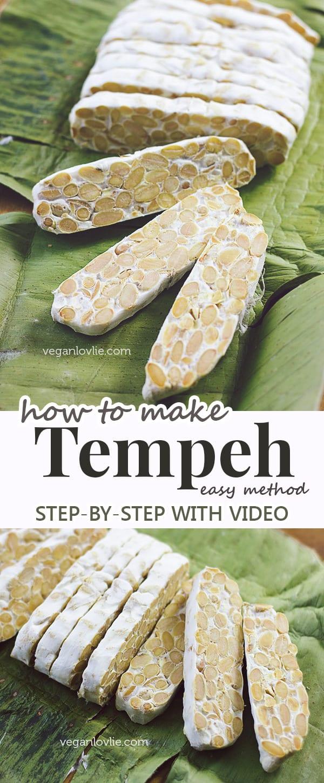 homemade tempeh, how to make tempeh at home
