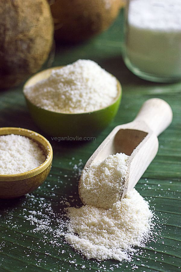 how to make coconut flour homemade