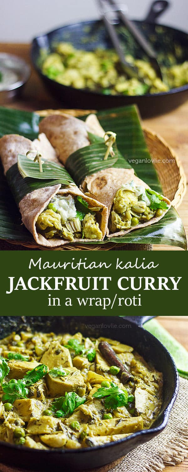 kalia curry jackfruit recipe | cari jacques