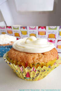 Vegan coconut lemon cupcakes