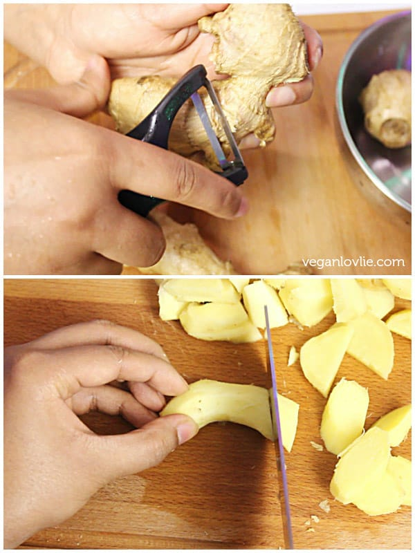 How to Pre-Mince, Prepare, Preserve & Store ginger or garlic