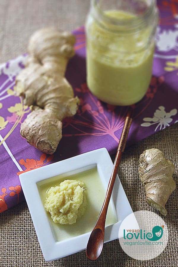How to make homemade ginger or garlic paste - prepare, peel, mince, preserve and store ginger or garlic, how-to