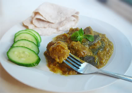 Mauritian-style Vegan Haleem Recipe (Halim), meatless balls, vegan meat balls