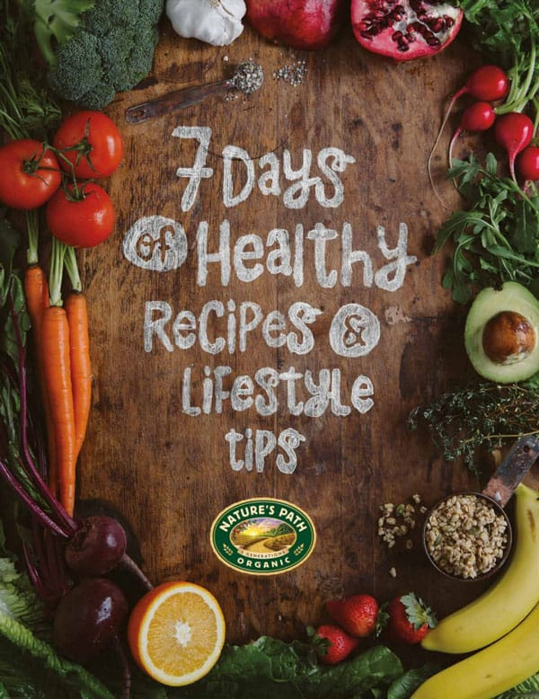 Nature's Path eBook 7 Days Healthy Recipes
