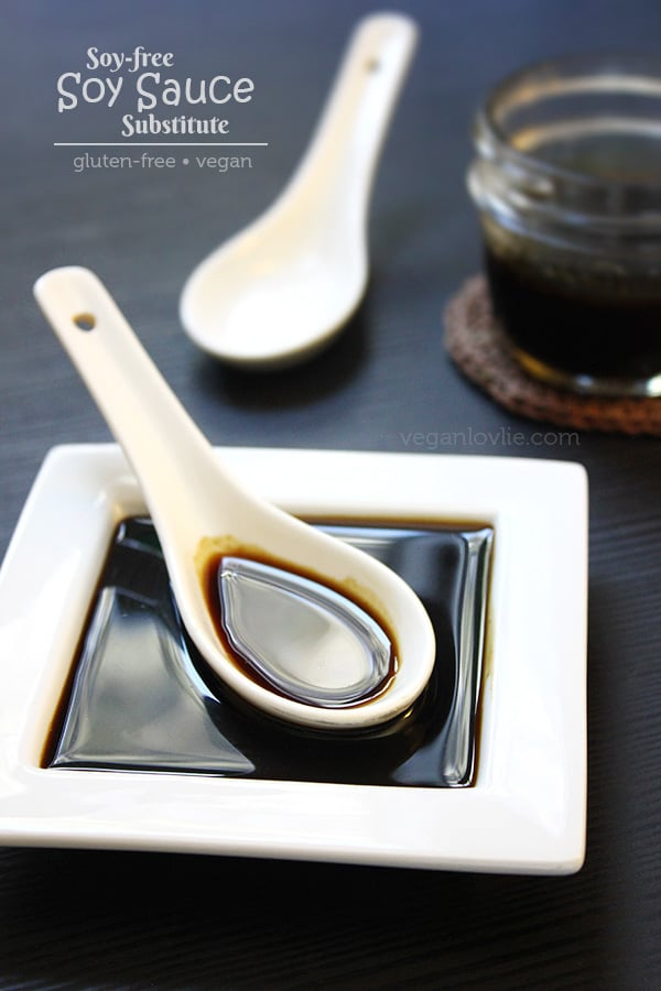 Soy-free Gluten-free Substitute for Soy Sauce, Replacement for soy sauce