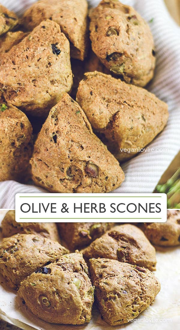 Olive and Herb Scones