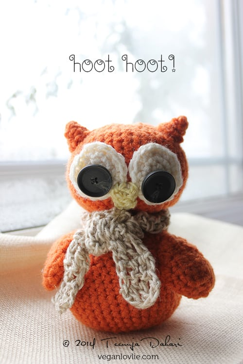 My new crochet project: Owl #amigurumi