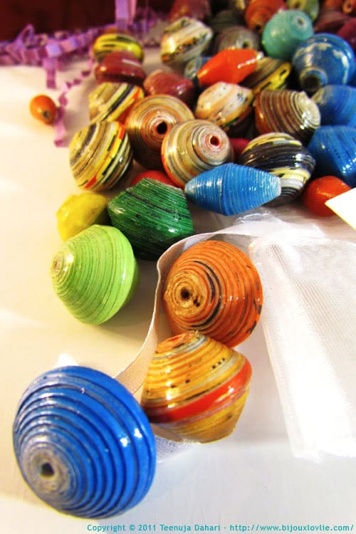 papertopearls paper beads