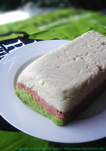tricolored bean pate