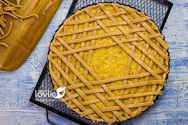 how to weave a pie lattice