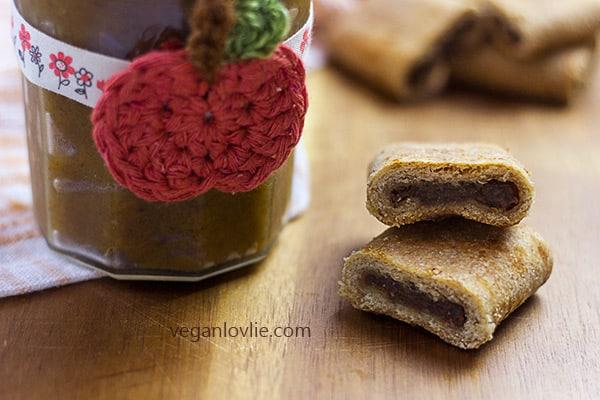 pumpkin butter roll cookies, fig rolls, fig newtons