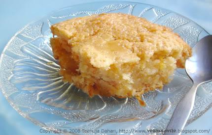 vegan semolina cake