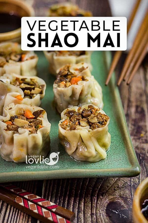 Vegetable Shao Mai or suimai