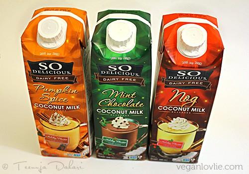 So Delicious Flavoured Coconut Milk