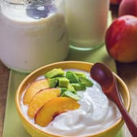 homemade soy yogurt, how to make vegan yogurt