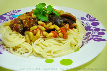 flageolet with pasta