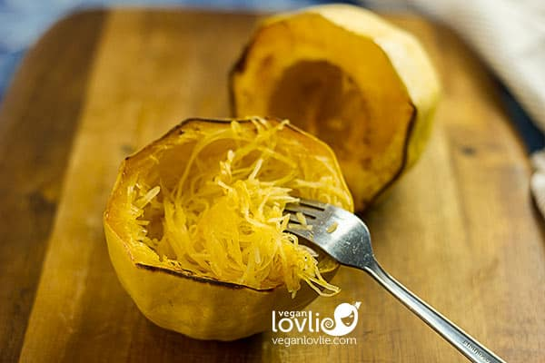 how to cook roast spaghetti squash