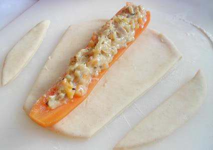 Crusted Stuffed Carrot