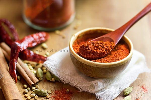 homemade tandoori masala spice mix recipe
