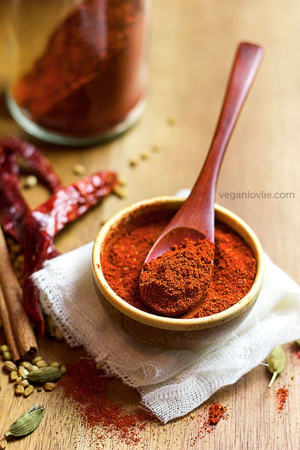 homemade tandoori masala spice mix recipe