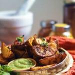 tandoori potato wedges