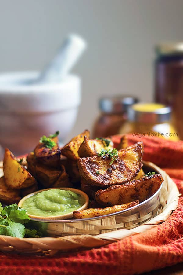 tandoori potato wedges