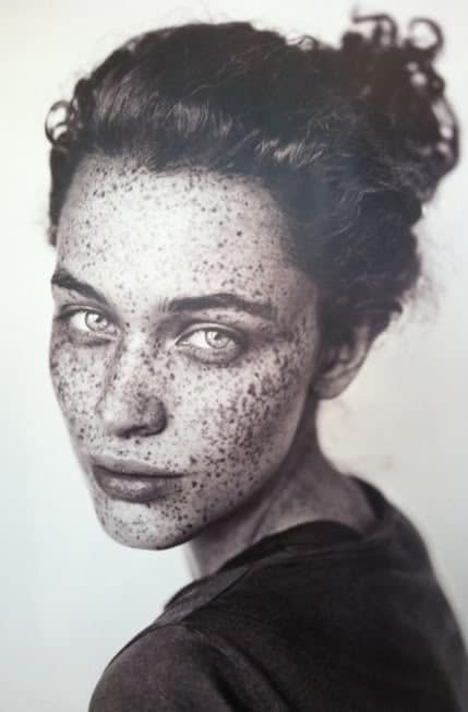 Freckles, imperfection, wabi-sabi