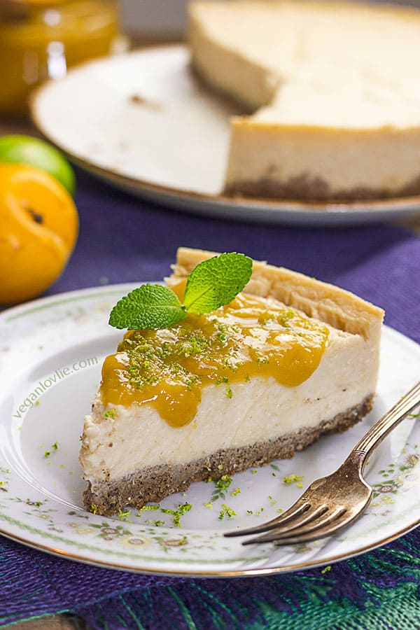 Vegan Cheesecake | Nut-free • Soy-free