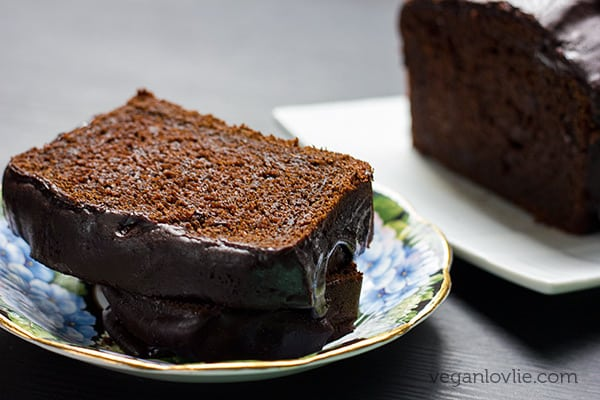 Vegan Chocolate Pumpkin Loaf Cake Recipe