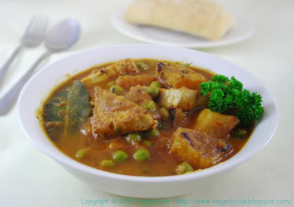 Vegan Mauritian Stew