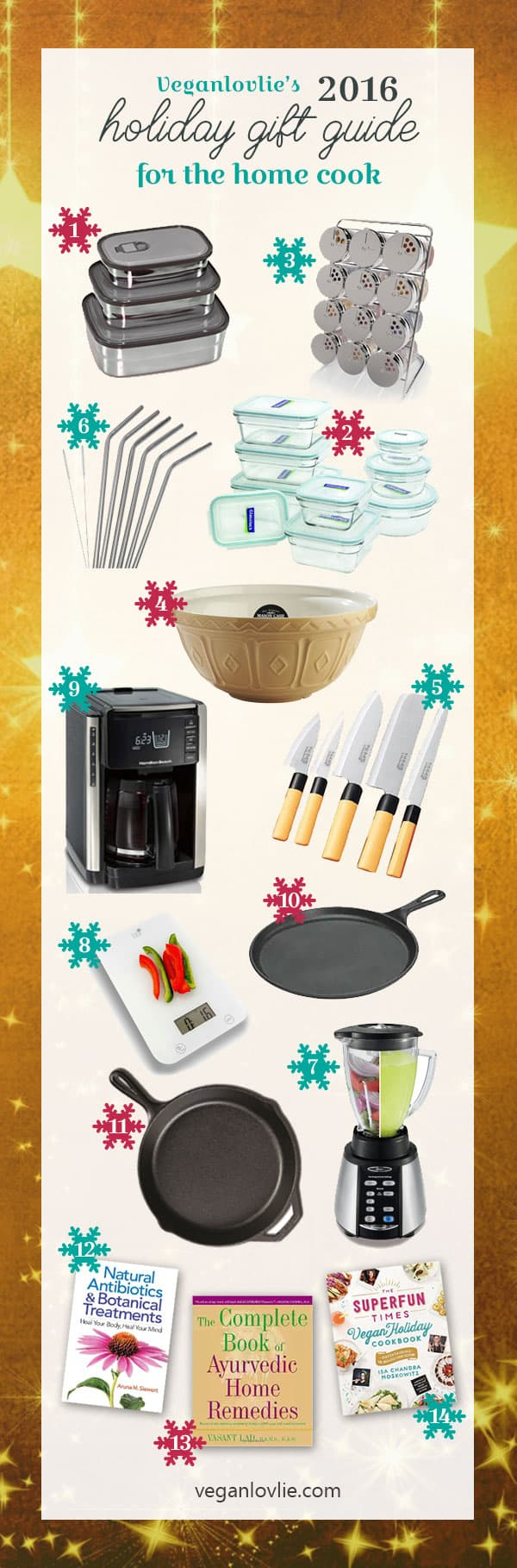 vegan holiday gift guide for the home cook